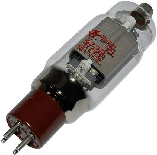 Elektroncső 572 B, pólusszám 4, UX-4 foglalat, Végpentóda