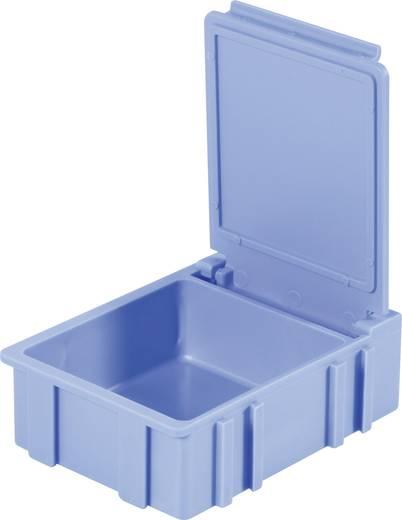 SMD rendszerező doboz, nem vezető, egyszínű Licefa Nem vezető, egyszínű fedél és test Sárga (H x Sz x Ma) 41 x 37 x 15 mm