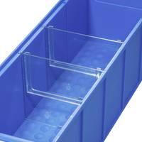 Allit 456590 Válaszfal, tárolódobozokhoz ProfiPlus ShelfBox Divider S Átlátszó 4 db Allit