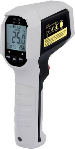 Infra hőmérő VOLTCRAFT IRF 650-12DIP Optika 12:1 -35 - 650 °C Pirométer Kalibrált: Gyári standard (tanusítvány nélkül)