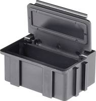 SMD rendező doboz, vezető, fekete Licefa N2661010EGB (H x Sz x Ma) 37 x 12 x 15 mm (N2661010EGB) Licefa