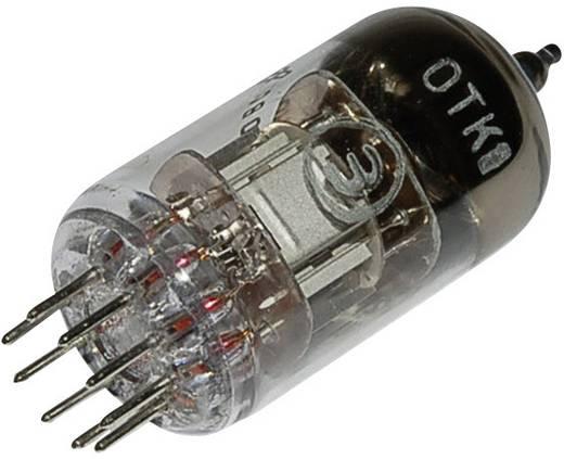 Elektroncső 6 N 2 P = 6 H 2 n, pólusszám 9, novál foglalat, Kettős trióda