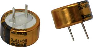 Korchip DCST5R5334CF Duplarétegű kondenzátor 0.33 F 5.5 V (Ø x Ma) 13.5 mm x 9.5 mm 1 db Korchip