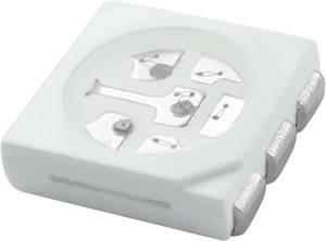 SMD LED 5050 fehér 120 ° 20 mA 3.4 V HuiYuan HuiYuan