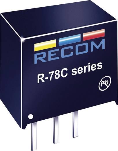 DC/DC átalakító, kimeneti feszültség: 15 V/DC, kimeneti áram: 1 A, SIP 3 kivitel, Recom International R-78C15-1.0