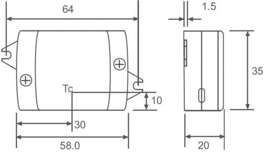 Állandó LED áramforrás 700 mA, 90-264 V/AC, Recom Lighting RACD06-700