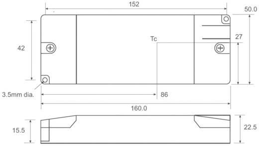 Állandó áramú LED tápegység 500 mA, 10-56 V/DC, 30 W, Recom Lighting RACD30-500