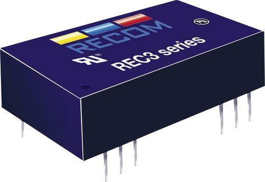 3 W-os DC/DC átalakító, be: 5 V/DC, ki: ±15 V/DC, ±100 mA, 3 W, Recom International REC3-0515DR/H1