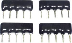 Vastagréteg ellenállás 10 kΩ THT SIP-8 0.125 W TANCAP SIP-B08-103G 1 db TANCAP
