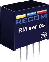0,25 W-os DC/DC átalakító, be: 12 V/DC, ki: 12 V/DC, 21 mA, 0,25 W, Recom International RM-1212S (RM-1212S) RECOM