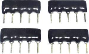 Vastagréteg ellenállás 10 kΩ THT SIP-5 0.125 W TANCAP SIP-A05-103G 1 db TANCAP