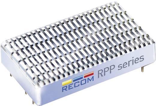 20 W-os DC/DC átalakító, be: 18 - 75 V/DC, ki: ±12 V/DC, ±833 mA, 20 W, Recom International RPP20-4812DW