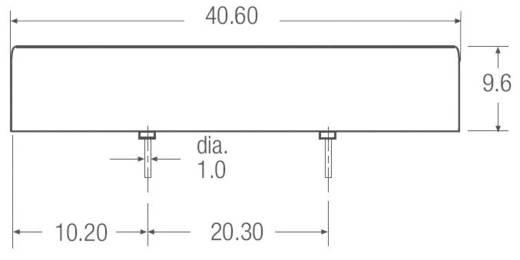 20 W-os DC/DC átalakító, be: 18 - 75 V/DC, ki: ±15 V/DC, ±666 mA, 20 W, Recom International RPP20-4815DW