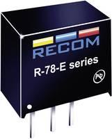DC/DC átalakító, SIP 3, kimenet: 5 V/DC, 0,5 A, bemenet: 7 - 28 V/DC, Recom International Innoline R-78E5.0-0.5 RECOM