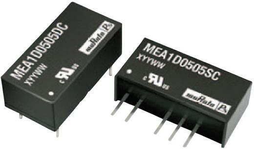 DC/DC átalakító,be: 15 V/DC ki: ±9 V/DC ±56 mA 1 W, Murata Power Solutions MEA1D1509SC