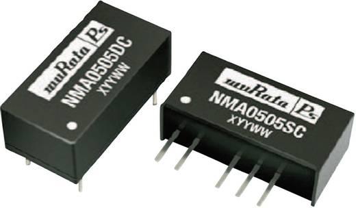 DC/DC átalakító, be: 12 V/DC ki: ±12 V/DC ±42 mA 1 W, Murata Power Solutions NMA1212SC