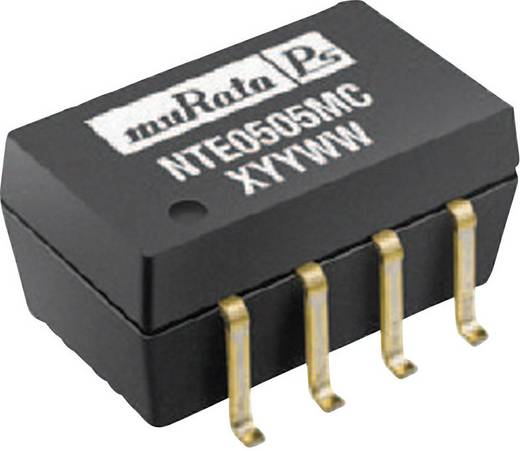 DC/DC átalakító, be: 12 V/DC ki: 9 V/DC 111 mA 1 W, Murata Power Solutions NTE1209MC