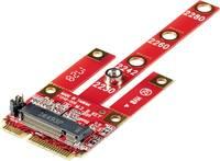 Csatlakozó átalakító, 1x PCIe alj 6 pól. - 1x mini PCI-Express, Renkforce RF-DT-134B (RF-4758075) Renkforce