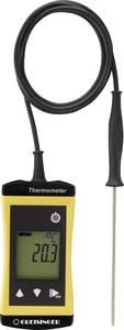 Greisinger G1710 Hőmérséklet mérőműszer -70 - +250 °C Érzékelő típus Pt1000 Kalibrált: Gyári standard (tanusítvánnyal) Greisinger