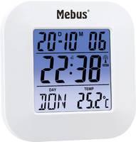 Mebus 51511 Rádiójel vezérlésű Ébresztőóra Fehér Mebus