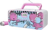 CD lejátszó USB-vel, gyerekeknek, rózsaszín, Muse M-29 (293470) Muse