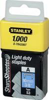 A típusú tűzőkapcsok 10mm 1000 db. 1 db Stanley by Black & Decker 1-TRA206T Stanley by Black & Decker