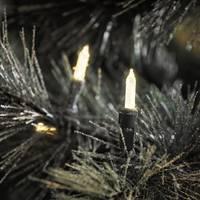 Konstsmide 6080-100 Mini fényfüzér Kültérre Hálózatról üzemeltetett Fényforrások száma 304 LED Megvilágított hossz: 4 Konstsmide