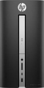 HP 570-a130ng Midi számítógép torony AMD A9-9430 APU 8 GB 1 TB HDD 256 GB SSD Windows® 10 Home AMD Radeon R5 HP