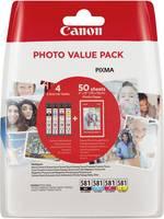Canon Tinta CLI-581 Photo Value Pack CMYK Eredeti Fénykép fekete, Cián, Bíbor, Sárga 2106C005 Canon
