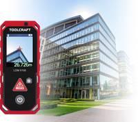 Bluetoothos lézeres távolságmérő max. 100 m IP65 Toolcraft LDM X100 TOOLCRAFT