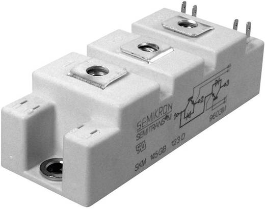 IGBT modul, I(C) 125 A, U(CES) 1700 V SEMITRANS® Semikron SKM100GB176D SPT
