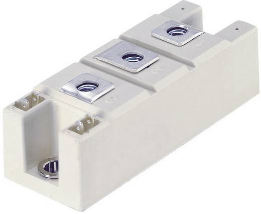 Tirisztor/dióda modul, SEMIPACK® 2, I(T) 160 A, U(DRM) 1200 V, SEMIPACK® Semikron SKKH162/12E