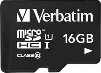 Verbatim Tablet mikro SDHC kártya 16 GB Class 10, UHS-I USB-s kártyaolvasóval Verbatim
