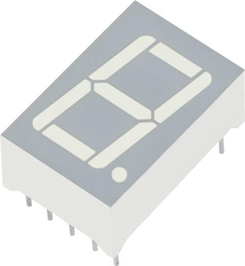 LED kijelző zöld 17,5x12,4x7mm A