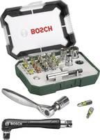 Bit készlet 27 részes Bosch Accessories Promoline 2607017392 Egyeneshornyú, Kereszthornyú Pozidriv, Kereszthornyú Philli (2607017392) Bosch Accessories