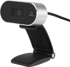 Full HD webkamera 1920 x 1080 px, csíptetős tartó, Renkforce RF-WC-1080P Renkforce