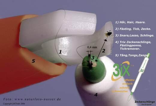 Kullancskiszedő csipesz, fehér, 3iX tick sling