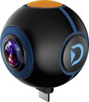 Discovery Adventures HD 720P 720° Android Action Camera Spy Kiegészítő kamera Fekete 360° Discovery Adventures