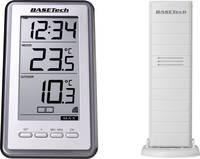 Vezeték nélküli hőmérő, ezüst, Basetech TS-9160 (1604184) Basetech