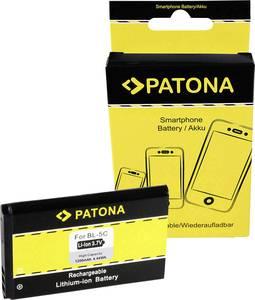 Kamera akku Patona Megfelelő eredeti akku BL-5CA, BL-5CB, BL-5 Patona