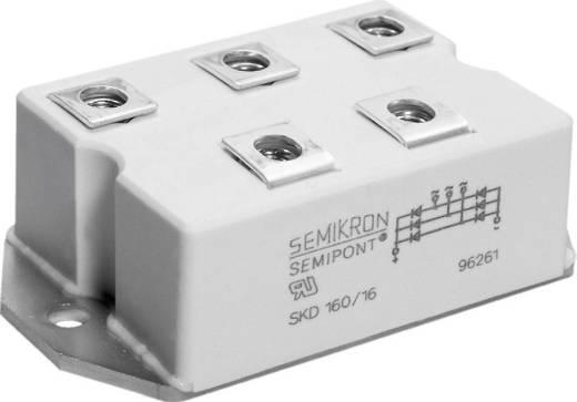 3 fázisú SKD teljesítmény hídegyenirányító, SEMIPONT® 4, I(FSM 50Hz) 1800 A, U(RRM) 1600 V, Semikron SKD160/16