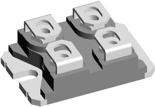 Dióda, ház típus: SOT-227B, I(F) 2 x 123 A, zárófeszültség: U(R) 200 V, IXYS DSEI2x121-02A