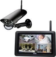 Switel HS2000 Vezeték nélküli-Megfigyelő kamera készlet 720 pixel 2.4 GHz Switel
