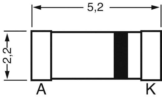 SMD dióda, ház típus: MELF, I(F) 1 A, zárófeszültség: U(R) 400 V, Diotec SM4004