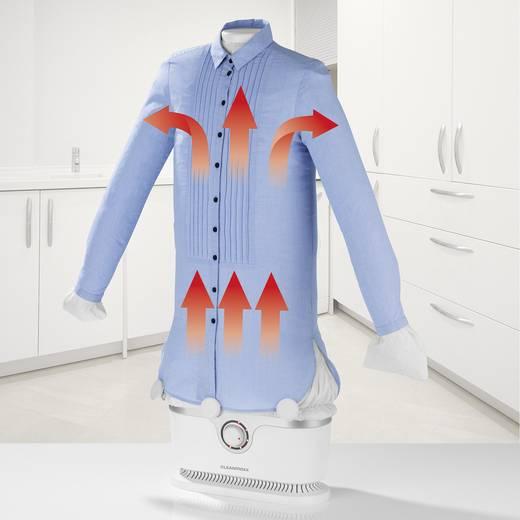 Ruhagőzölő, vasaló ingekhez és blúzokhoz, fehér, 1800 W, CleanMaxx 00384