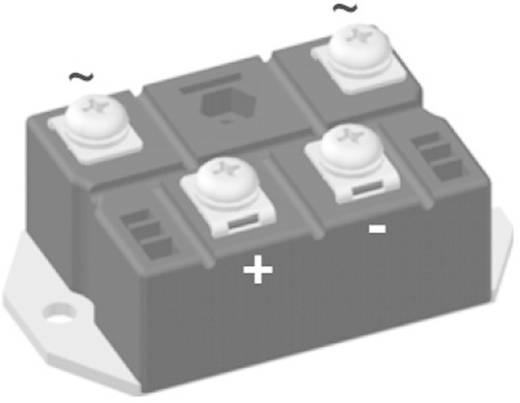 Híd egyenirányító, ház típus: PWS-E, névleges áram: 122 A, U(RRM) 1600 V, IXYS VBO130-16NO7