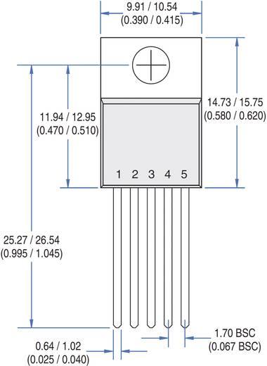 Lineáris IC, ház típus: TO-220, MOS/IGBT kapumeghajtó, IXYS IXDI609CI