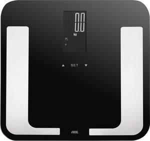Testanalizálós digitális személymérleg max. 180 kg, fekete, ADE BA 1403 Bella (BA1403) ADE