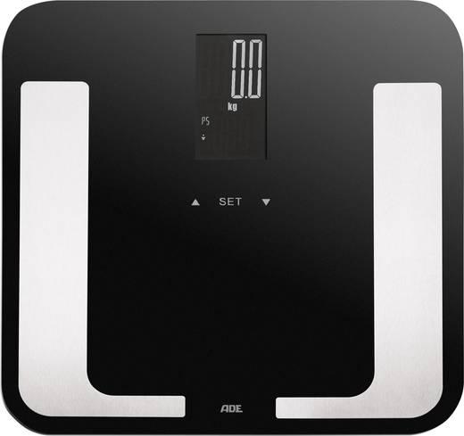 Testanalizálós digitális személymérleg max. 180 kg, fekete, ADE BA 1403 Bella