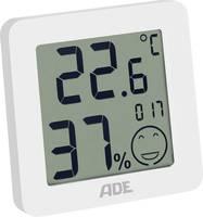 Digitális hőmérő és páratartalom mérő, fehér, ADE WS 1706 ADE